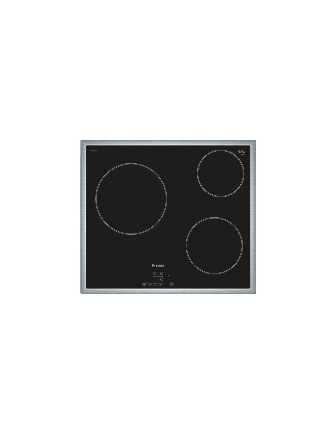 plaque de cuisson bosch pkm645b17e m s d electrom nager. Black Bedroom Furniture Sets. Home Design Ideas